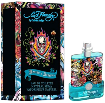 Hearts & Daggers for Him Ed Hardy