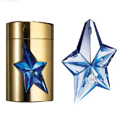 Thierry Mugler - Angel Precious Star 20th Birthday Edition и A*Men Gold Edition